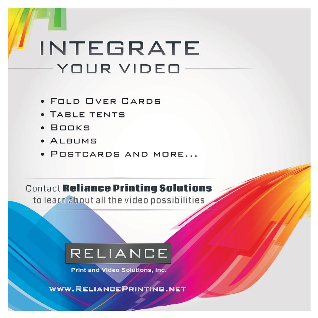Video book design for print broker