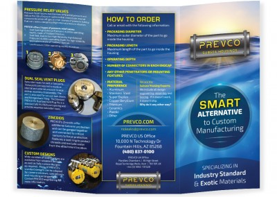 Brochure design for subsea products