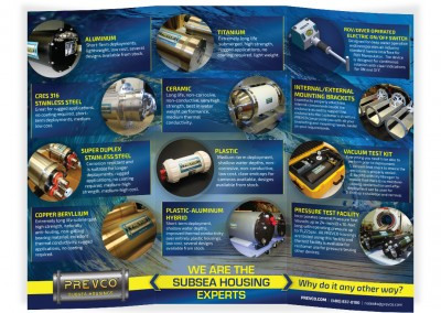 Product brochure for subsea company