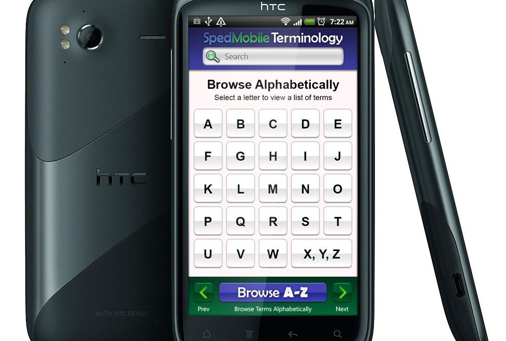 Vocabulary Android App Design