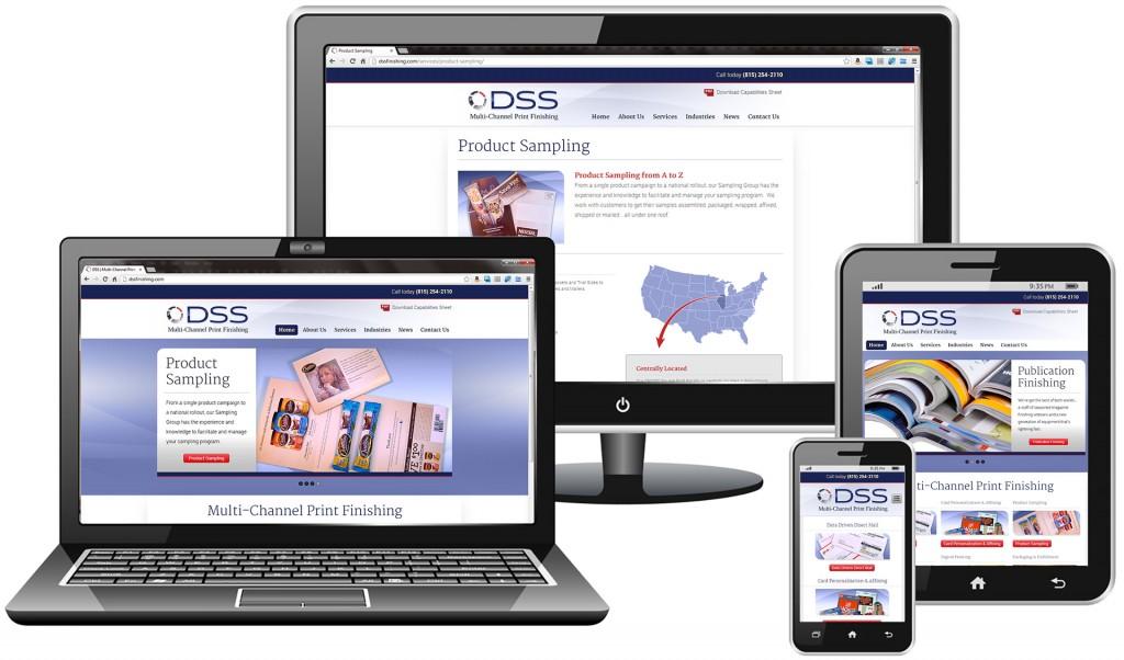 Responsive WordPress website design for printing company