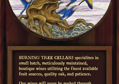 Rack card design for an Arizona winery
