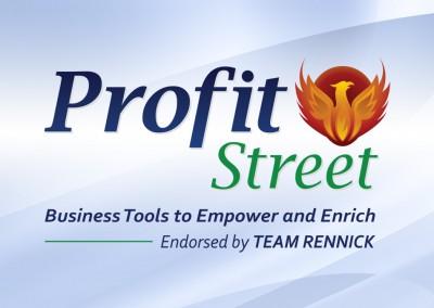 Profit Street Logo Design