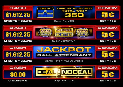 Deal Or No Deal UI's