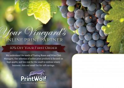 Wine Mailer Front