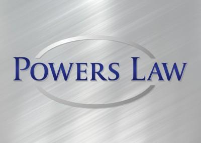 Powers Law Logo Design