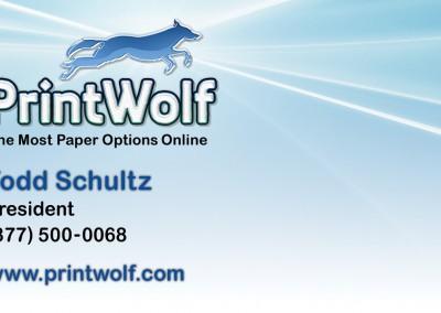 PrintWolf Bus Card