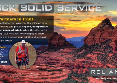 Direct mail design for print broker