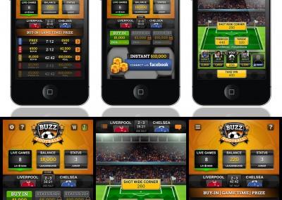 Soccer iOS App Design