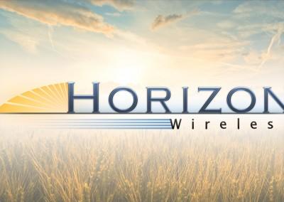 Horizon Wireless Logo Design