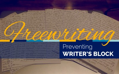 Preventing Writer's Block with Freewriting