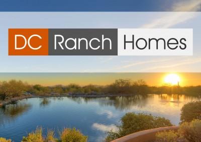 DC Ranch Homes logo design