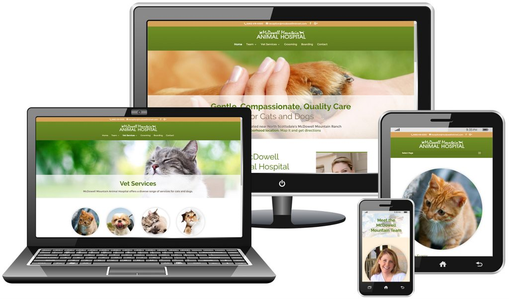 Animal Hospital Website Redesign