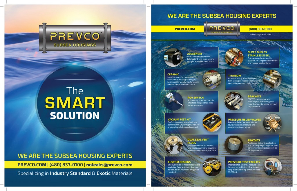 Magazine back cover design for engineering consultancy