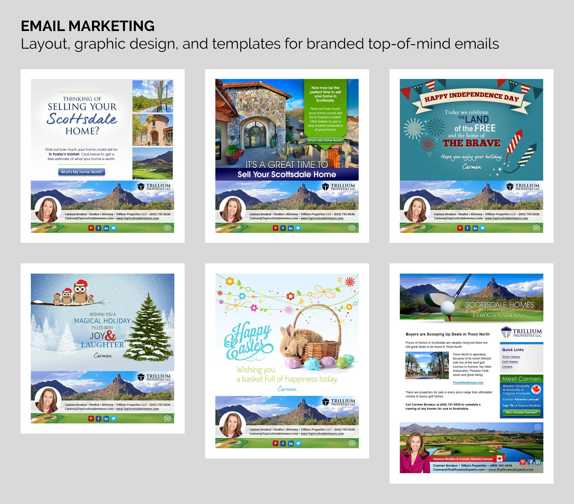 Email Marketing Design   Trillium Properties