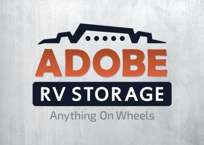 Adobe RV Storage Logo Design