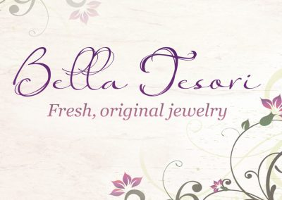 Bella Tesori | Fresh, original jewelry | logo design