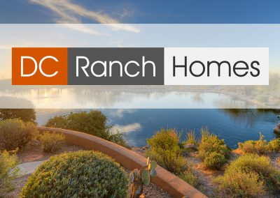 DC Ranch Homes Logo Design