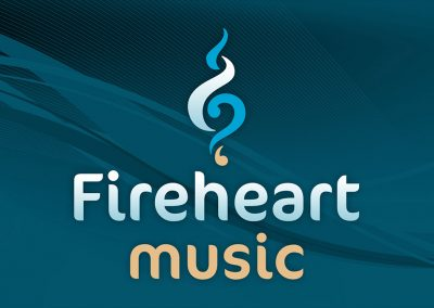 Fireheart Music Logo Design