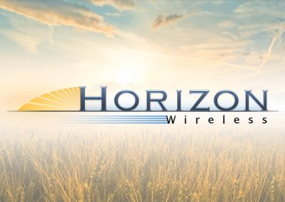 Horizon Wireless Logo Design