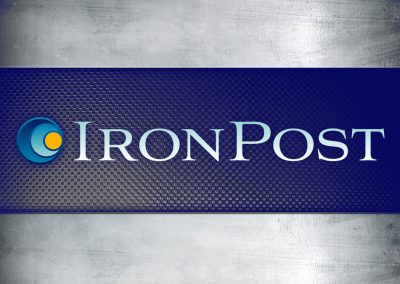 Iron Post Logo Design
