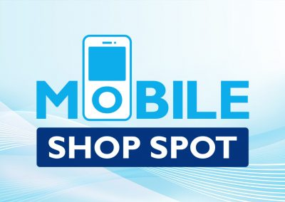 Mobile Shop Spot Logo Design