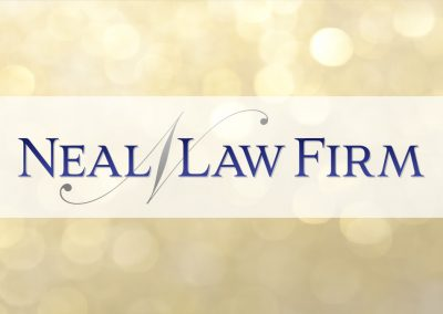 Neal Law Firm Logo Design