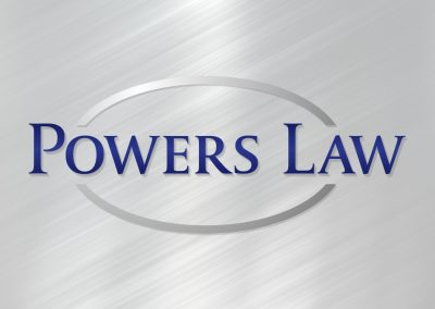 Powers Law Logo Design