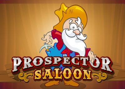 Prospector Saloon Logo Design