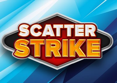 Scatter Strike Logo Design