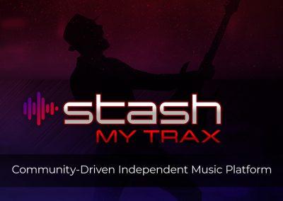 StashMyTrax Logo Design