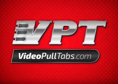VideoPullTabs Logo Design
