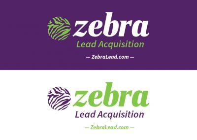 ZebraLead Logo Design