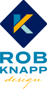 Rob Knapp Design logo vertical