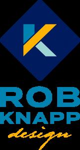 Rob Knapp Design logo vertical