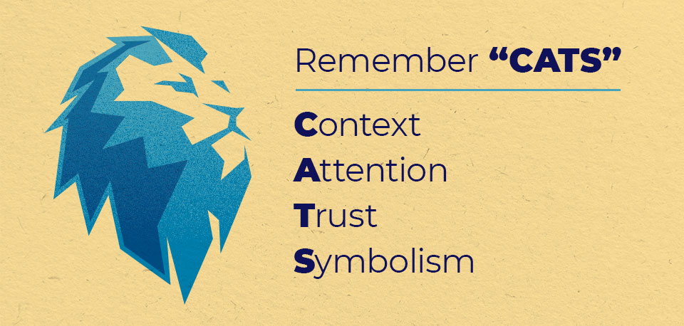 Remember Context, Attention, Trust, Symbolism