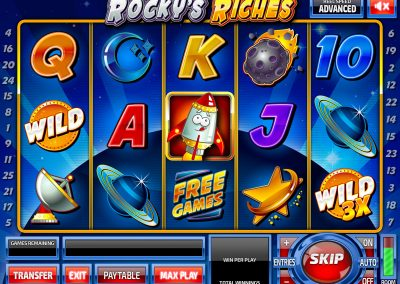Rocky's Riches Basegame
