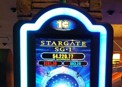 Stargate SG-1 slot machine