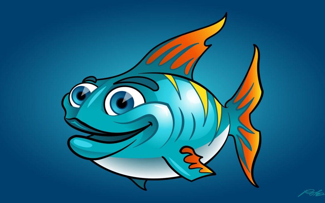 Cartoon Fish Character Design
