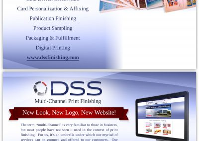 Direct mail marketing piece design