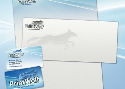 PrintWolf business suite design