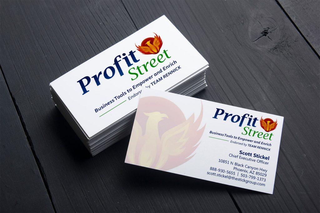 Business card design | Profit Street