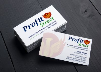 Business card design | Profit Street
