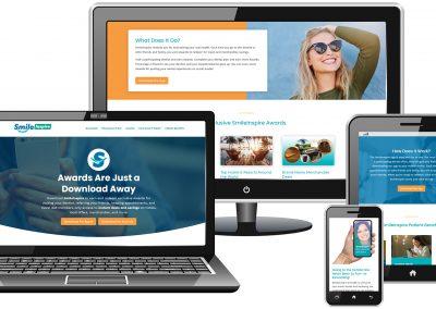 SmileInspire WordPress responsive dental web design